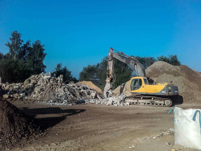 Centre de tri et recyclage de matieres de démolition Arlon