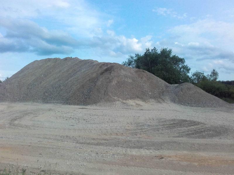 Centre de tri et recyclage de matières de demolition, Arlon, E411, Messancy, Luxmbourg