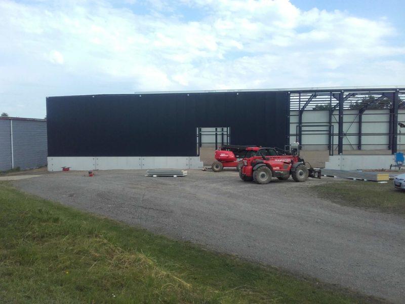 Construction d'un entrepot à louer, surface logistique, E411, Arlon, Luxembourg