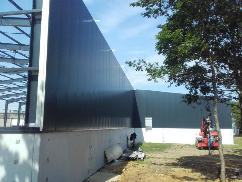 Zucarlux construction zone entrepot Arlon