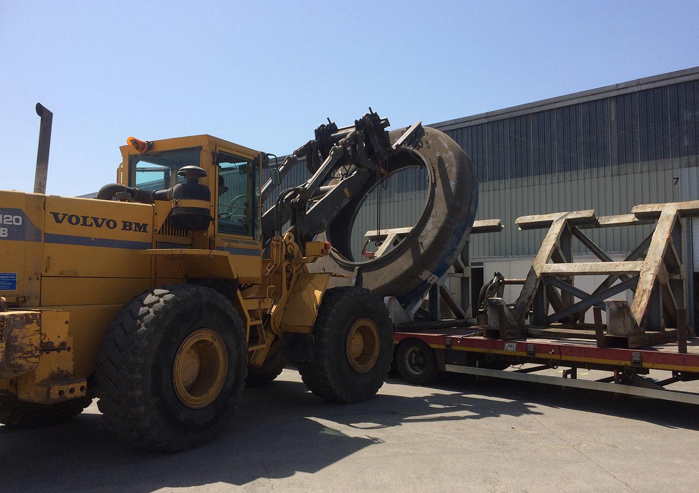 Arlon service de manutention-pour gros volumes, marchandise, poids lourd