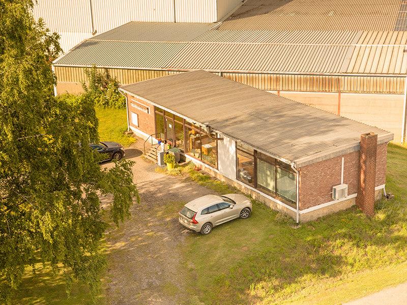 Bureau Zucarlux Arlon entrepôt, logistique, recyclage, parc à grumes de bois