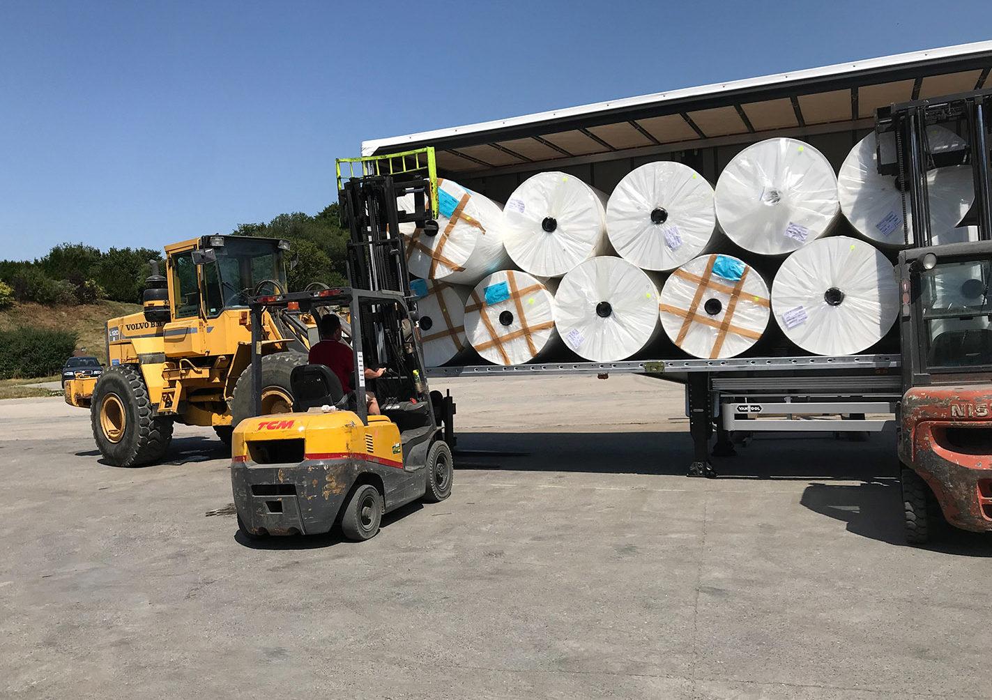 Service entreprise Arlon chargement déchargement produits lourds grands gabarits Zucarlux