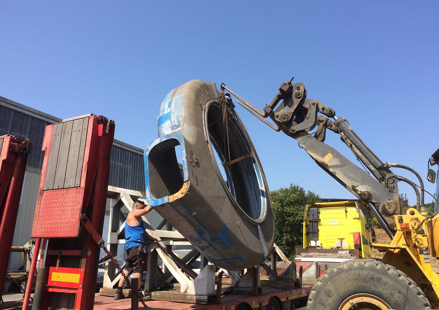Chargement ou déchargement marchandise 10kg à 60000kg logistique Arlon, Habay, Luxembourg