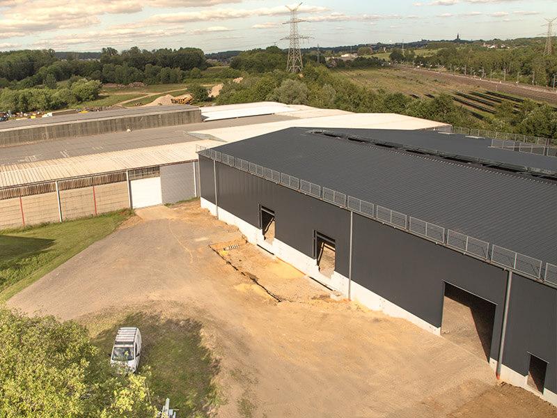 service pour entreprise avec l'entreposage réservation espace en location Zucarlux Arlon, Luxembourg