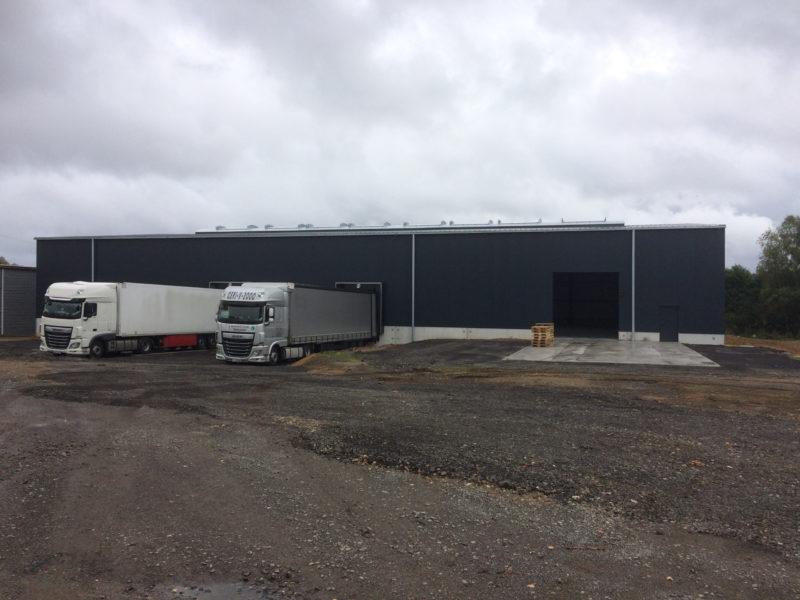 Porte pour camion hangar ZucarLux - Déchargement marchandise
